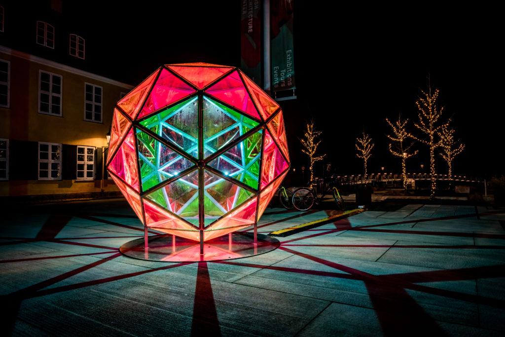 Dichroic Sphere by Studio Jakob Kvist